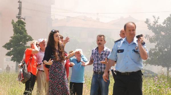 Gölcük'te Korkutan Çati Yangını