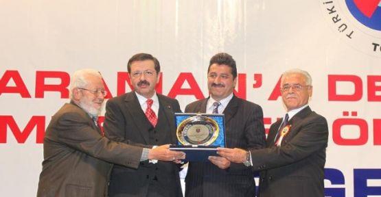 Golda'nın Bölge Ekonomisine Katkısı Ödüllendirildi