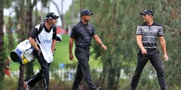 Golf Turnuvasina Yağmur Rötari (3)