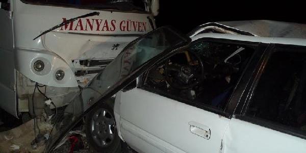 Gönen'De Kaza; Azerbaycan Uyruklu Kadin Öldü, 6 Kişi Yaralandi