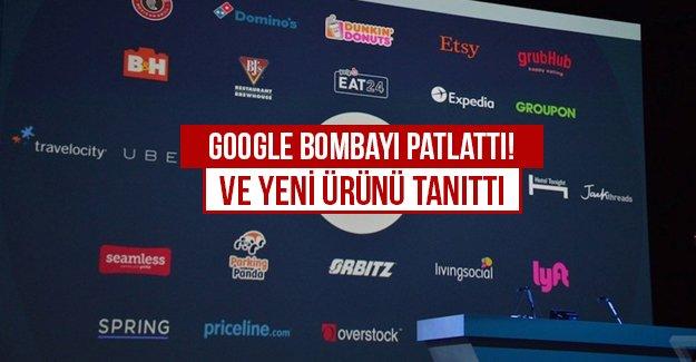 GOOGLE BOMBAYI PATLATTI! ve Yeni Ürününü tanıttı