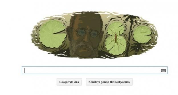 Google Carlos Juan Finlay için Doodle logosu yaptı