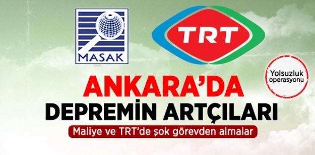 Görevden Almalar MASAK ve TRT'ye de Sıçradı!