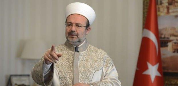 Görmez: Papa Srebrenitsa için soykırım diyecektir