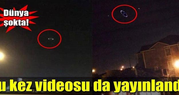 Görüntülerdeki UFO mu?