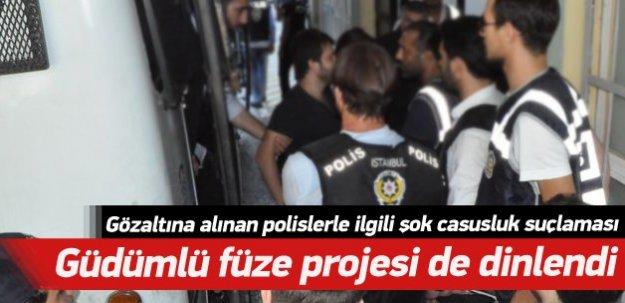 Gözaltına alınan polislerle ilgili şok suçlama