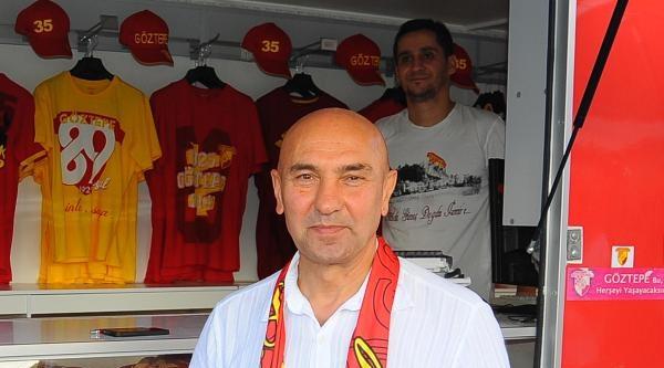 Göztepe Teknik Direktörü Kaya: Ptt 1'inci Lig'in Kadrosunu Kurduk
