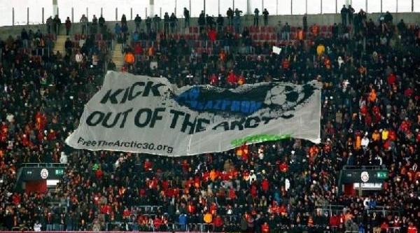 Greenpeace Sesini Bu Kez Galatasaray-Juventus Maçinda Duyurdu