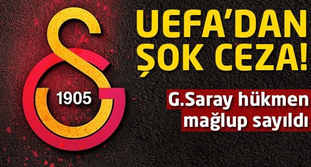 G.Saray'a büyük şok! UEFA kararını verdi...