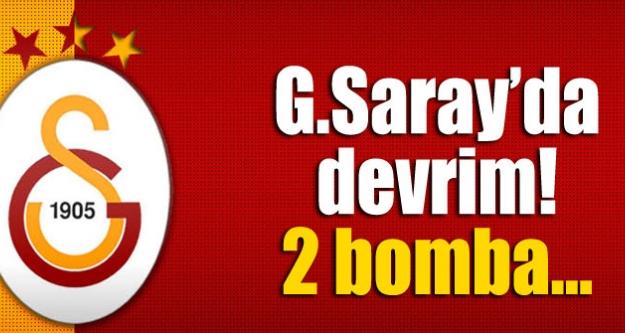 G.Saray'da devrim! 2 Bomba...