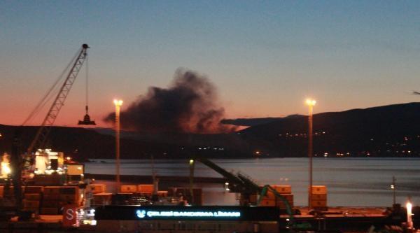 Gübre Fabrikasında Yangın