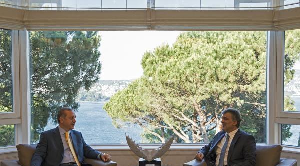 Gül-erdoğan Görüşmesi Yaklaşık 40 Dakika Sürdü
