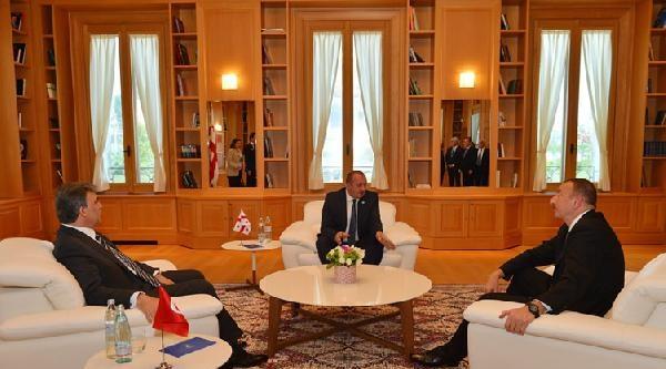 Gül, Türkiye-gürcistan-azerbaycan Üçlü Zirvesine Katıldı (2)