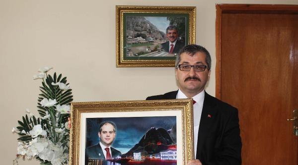 Gül Ve Erdoğan'ın 3 Boyutlu Rölyefleri Sergide