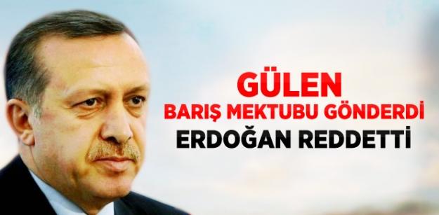 Gülen'den Erdoğan'a Islak İmzalı Barış Mektubu...