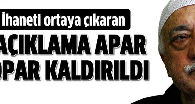 Gülen'i kurtarma operasyonu başladı
