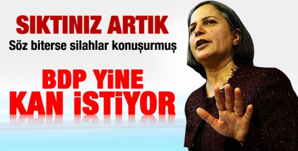 Gültan Kışanak Erdoğan'a seslendi !