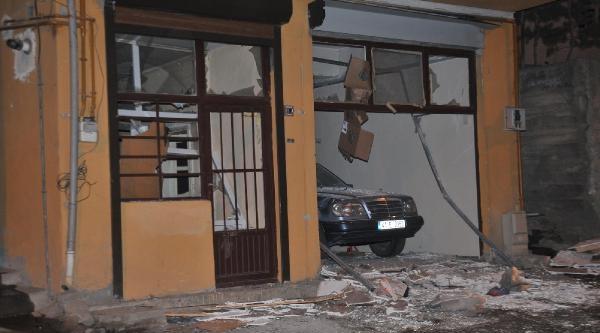 Gümüşhane'de  Doğalgaz Patlamasi: 1 Öğrenci Yaralandi