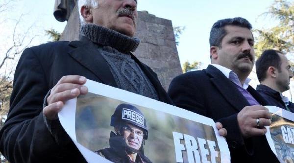 Gümüşhaneli Gazeteciler, Bünyamin Aygün'e Özgürlük Istedi