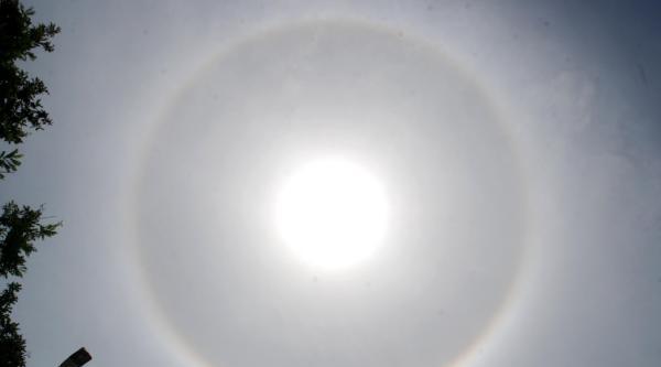 Güneş 'taç' Taktı - Ek Fotoğraflar