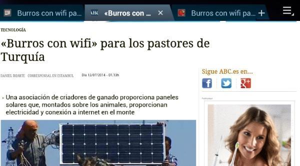 Güney Amerikalı Köylüler  Eşekli Wifi'leri İstiyor