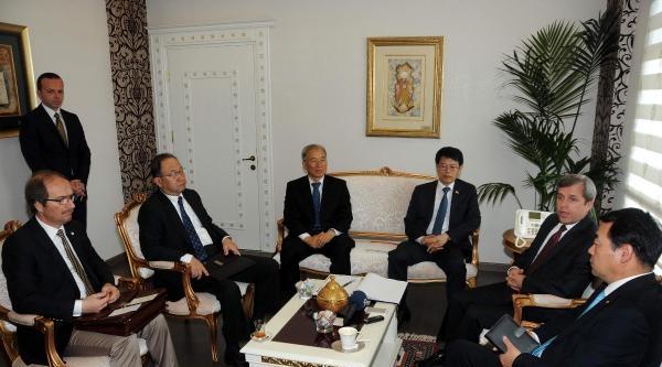 Güney Kore Heyeti Çanakkale'de Tarım Ürünlerini İnceledi