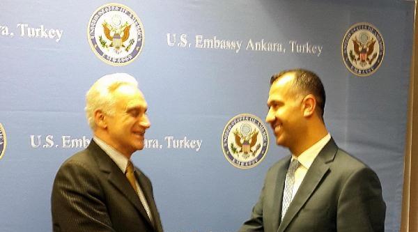 Güngiad Yönetimi, Ankara'da Abd Büyükelçisiyle Görüştü