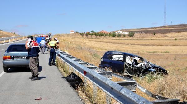 Gurbetçi Otomobili Bariyere Çarpip Takla Attı: 4 Ölü, 6 Yaralı