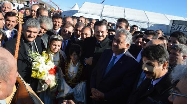 Gürcistan'a Açilacak Aktaş Sinir Kapisinin Temeli Atildi