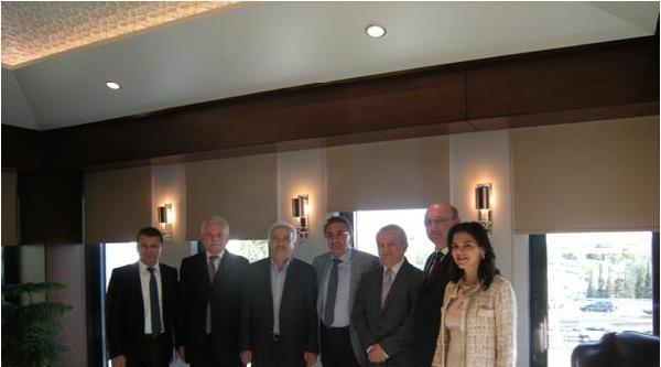 Güsiad Başkanlık Divanı'ndan Begümhan Doğan Faralyalı'ya Ziyaret