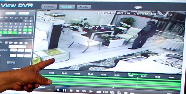 Güvenlik Kamerasının Görüntülediği Hırsızlık Şüphelisi Yakalandı