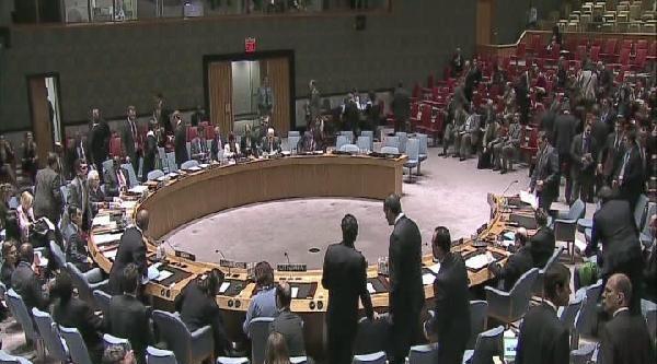 Güvenlik Konseyi Acil Olarak Toplandı