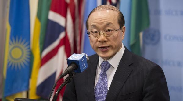Güvenlik Konseyi'nde Konuşan Çin Daimi Temsilcisi: