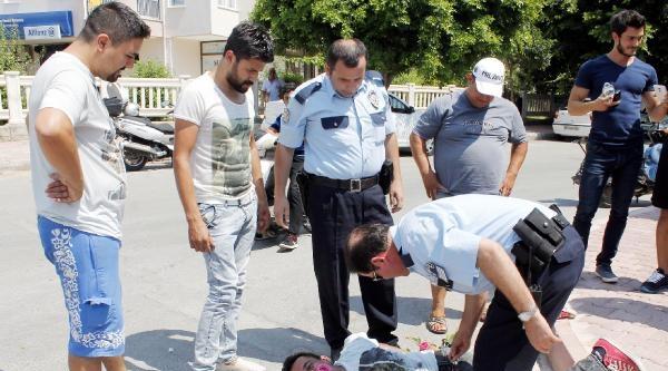 Güzellik Merkezi Sahibini Döven Şüpheliyi Mahalleli Yakaladı