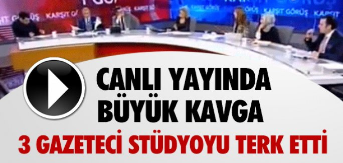 HABERTÜRK'TE KABATAŞ KAVGASI