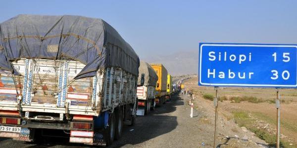 Habur'Da Tir Kuyruğu 40 Kilometreye Ulaşti