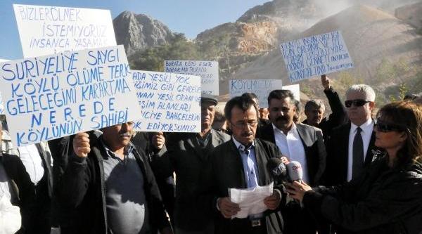 Hacisekiler Köylüsü: Taş Ocaği Bizi Kanser Yapti