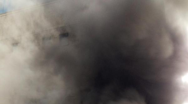 Hadımköy'de Kablo Deposunda Yangın (fotoğraf)
