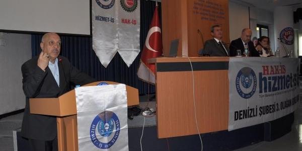Hak- Iş Başkani: Ülkede Kidem Tazminati Sorunu Var