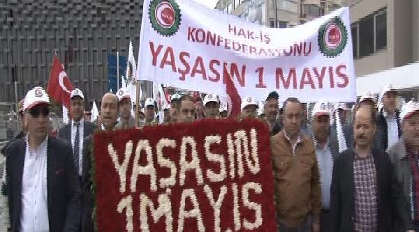 Hak-iş Taksim'de