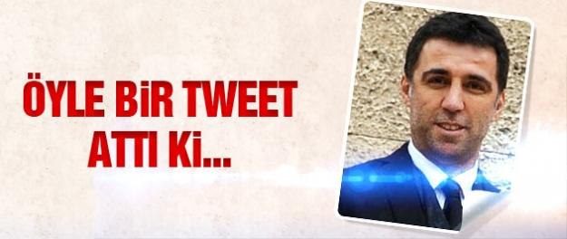 Hakan Şükür öyle bir tweet attı ki!