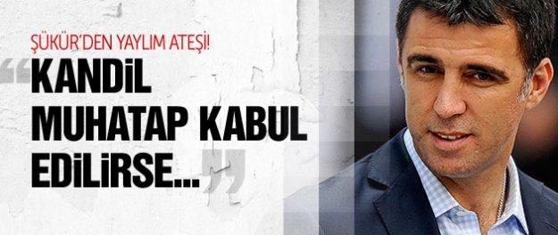 Hakan Şükür'den AK Parti'ye yaylım ateşi