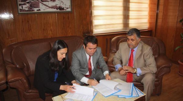 Hakkari Belediyesi'nde Toplu İş Sözleşmesi İmzalandi