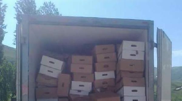Hakkari'de 7 Ton 500 Kilo Kaçak Et Ele Geçirildi