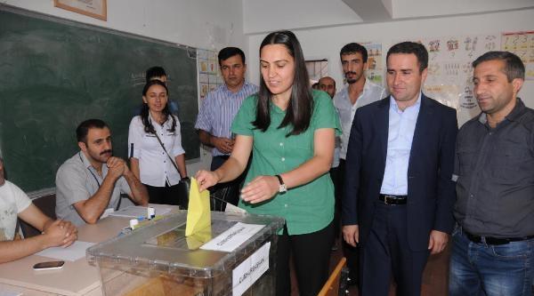 Hakkari'de Başkan Hatipoğlu Demirtaş'a Oy İstedi