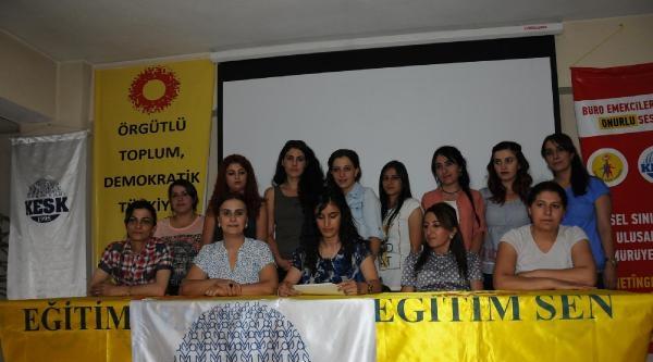 Hakkari'de Kesk'li Kadınlardan Işid'e Tepki