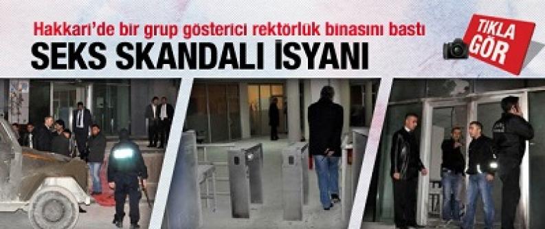 Hakkari'de seks skandalı isyanı!