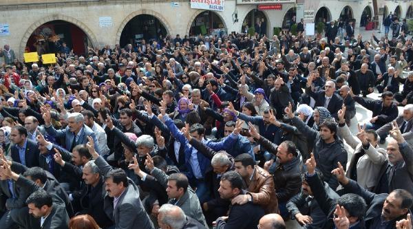 Halepçe Katliamı Şanliurfa'da Protesto Edildi