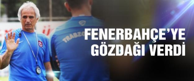 Halilhodzic Fenerbahçe'ye meydan okudu