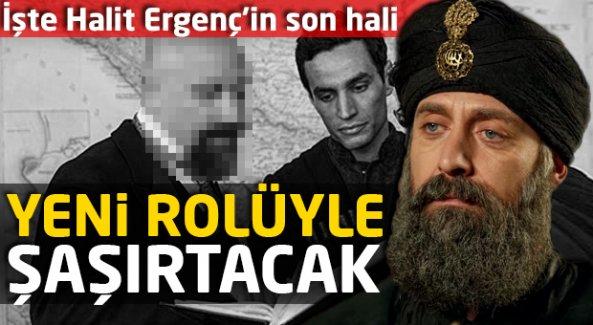 Halit Ergenç'in son imajı çok konuşulacak!